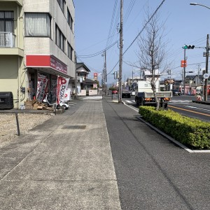 現地写真 前面道路