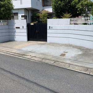 アプローチ前 駐車スペース