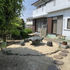 南側 お庭